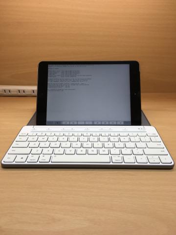 iPad miniとMicrosoft Universal Moblie Keyboard